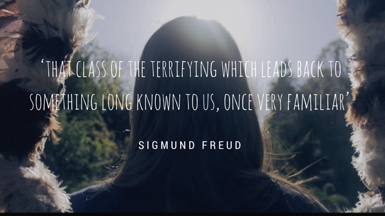 'that class of the terrifying which leads back to something long known to us, once very familiar_ (Freud